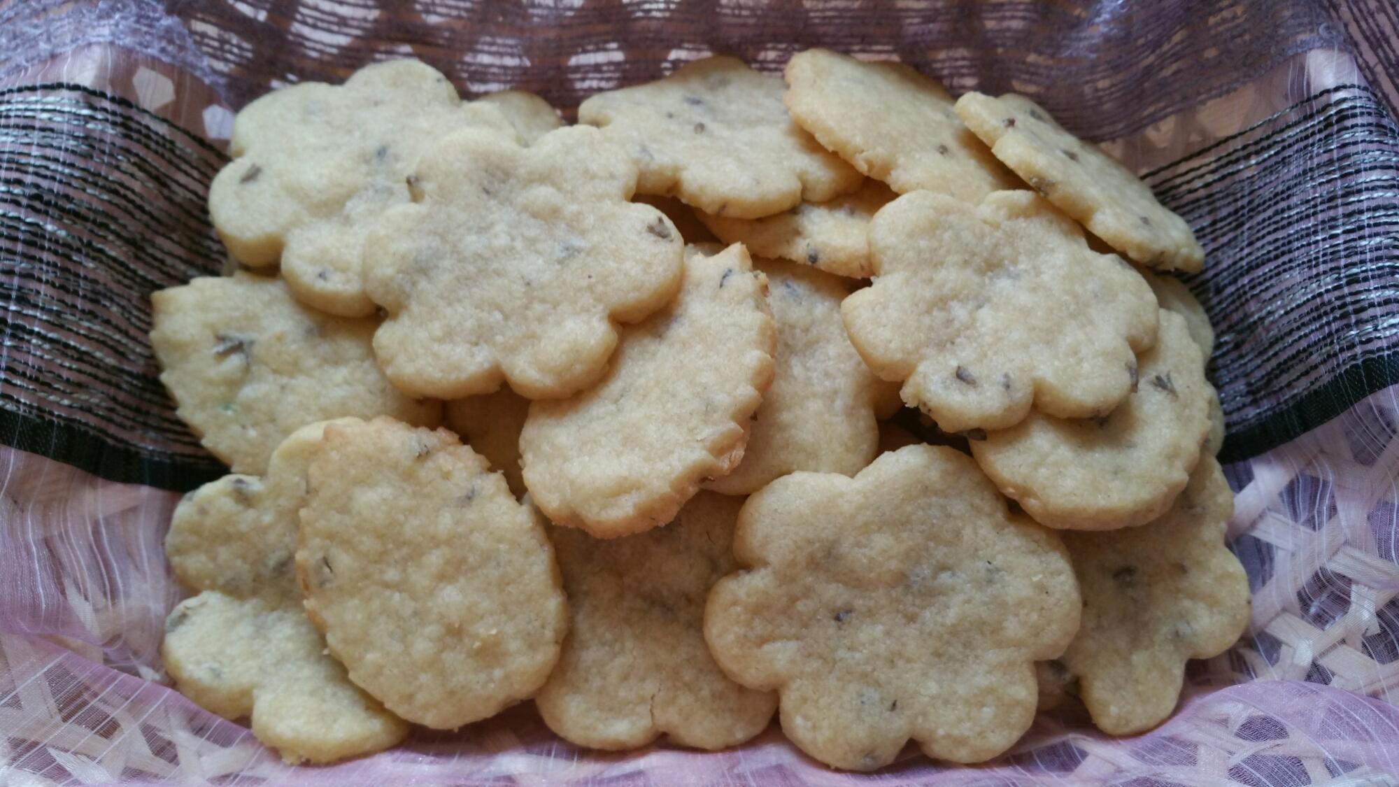 Lavender sugar cookies | Natascha's Palace